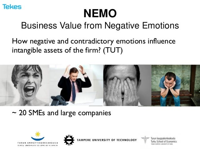NEMO Business Value from Negative Emotions  How negative and contradictory emotions influence intangible assets of the fir...