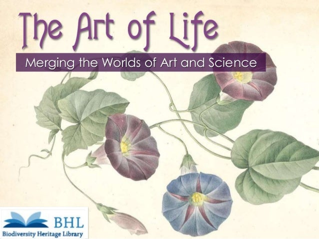 Merging the Worlds of Art and Science  IFLA Section on Science & Technology  August 19,2014