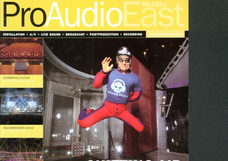 iFLY Project Featured in ProAudio ME