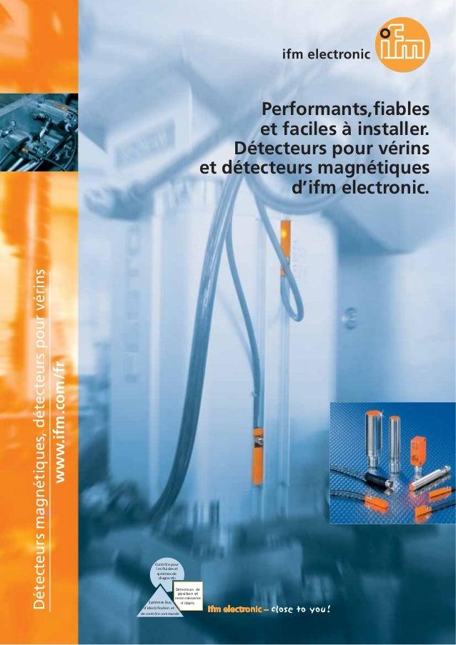 Contrôle pour les fluides et systèmes de diagnostic Systèmes Bus, d'identification et de contrôle commande Détecteurs de p...