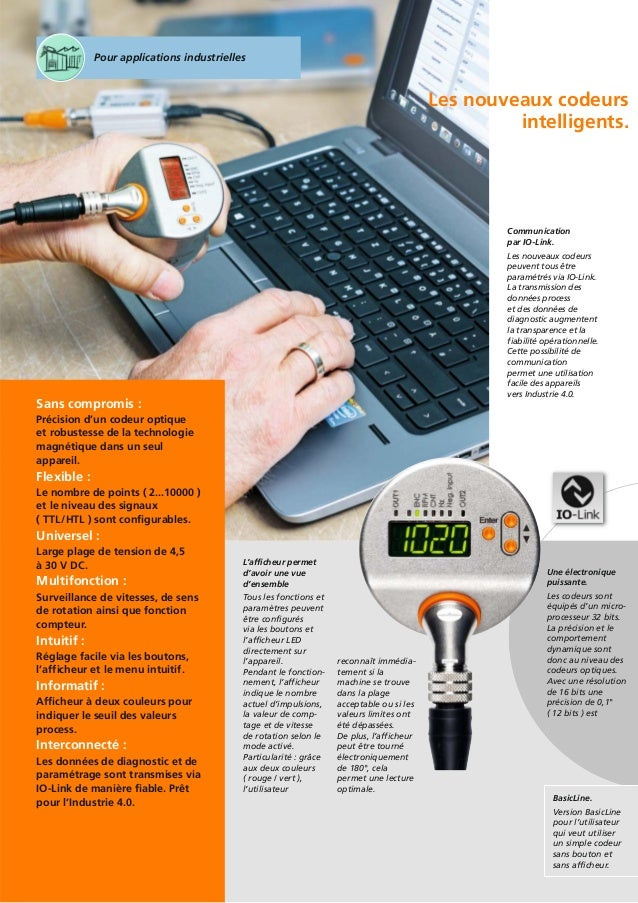 Codeurs Incr 233 Mentaux Intelligents D Ifm Electronic