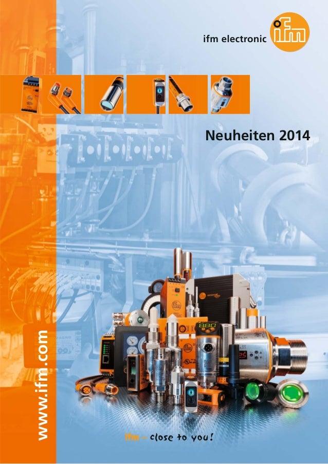 www.ifm.com Neuheiten 2014