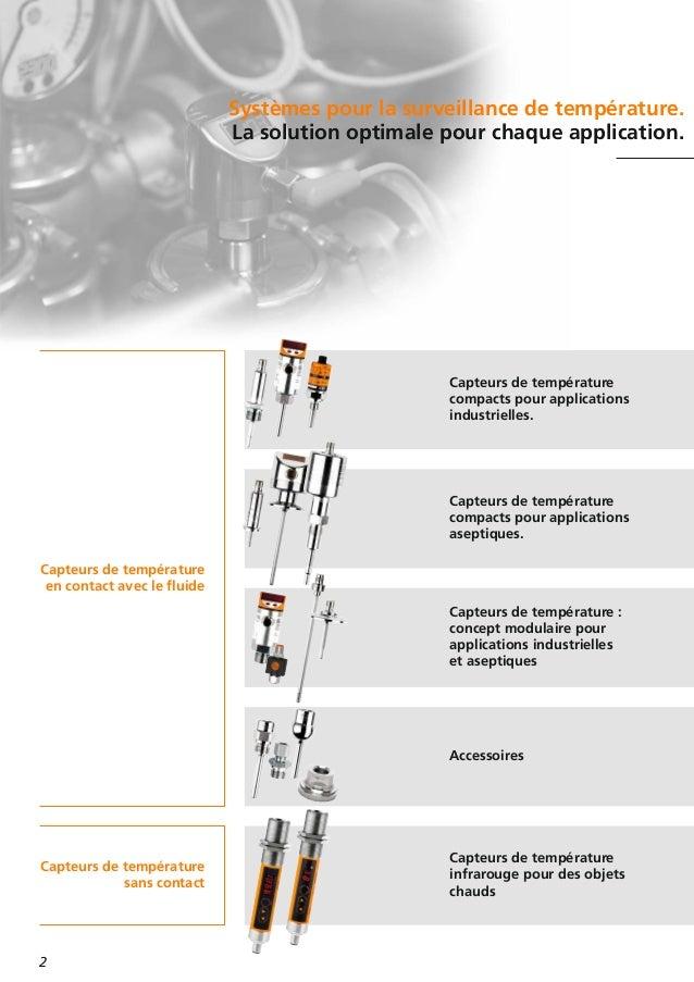 Le bon choix pour votre application les capteurs de temp rature d if - Application pour mesurer les decibels ...