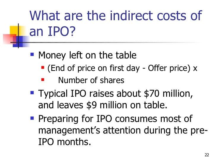 Pre-ipo stock options value