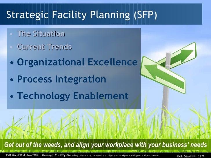 Strategic Facility Planning <ul><li>The Situation </li></ul><ul><li>Current Trends </li></ul><ul><li>Organizational Excell...