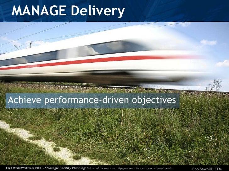 MANAGE Delivery <ul><li>Achieve performance-driven objectives </li></ul>