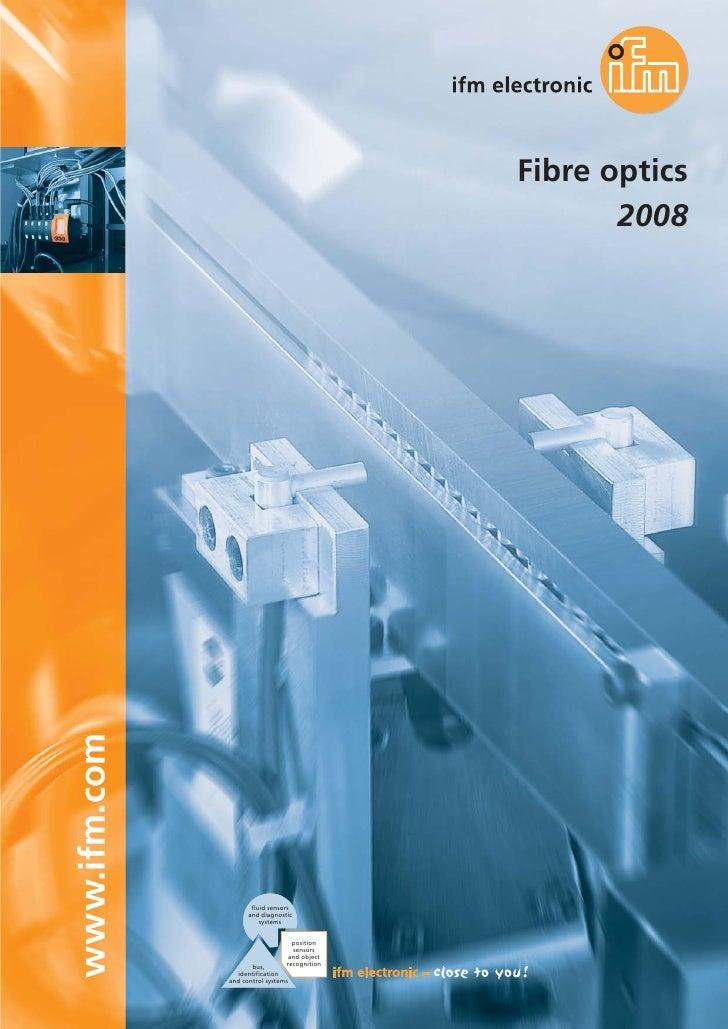 ifm fibre optics catalogue