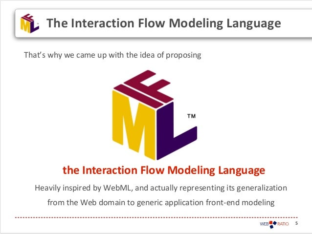5That's why we came up with the idea of proposingHeavily inspired by WebML, and actually representing its generalizationfr...