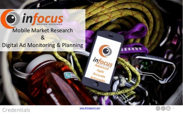 www.ifmresearch.com 1 Credentials Mobile Market Research & Digital Ad Monitoring & Planning