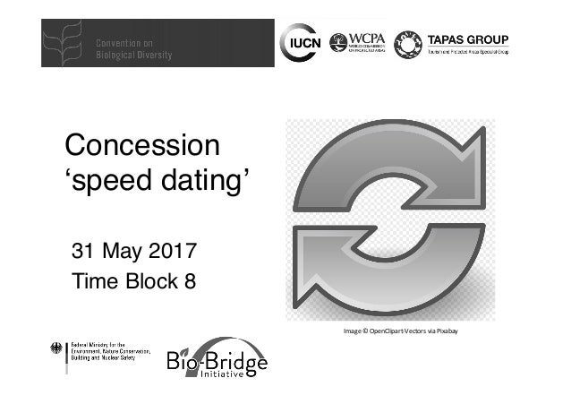 Concession 'speed dating' 31 May 2017 Time Block 8 Image©OpenClipart-VectorsviaPixabay