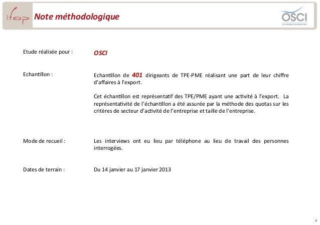La perception des entreprises françaises du dispositif d'accompagnement à l'export Slide 2