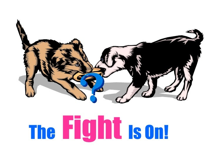 The  Fight   Is On!