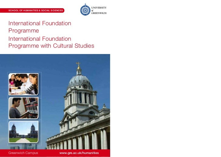 SCHOOL OF HUMANITIES & SOCIAL SCIENCESInternational FoundationProgrammeInternational FoundationProgramme with Cultural Stu...