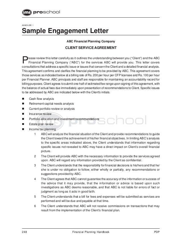 cfp engagement letter - Mersn.proforum.co