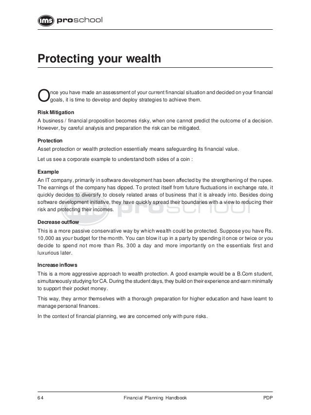 Ifp 9 protecting_your_wealth