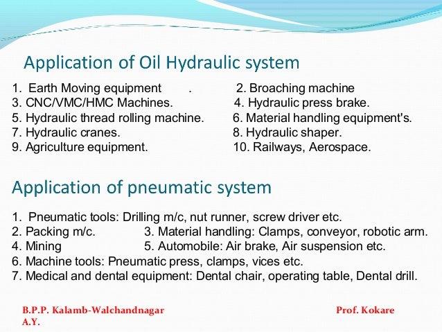 1. Earth Moving equipment . 2. Broaching machine 3. CNC/VMC/HMC Machines. 4. Hydraulic press brake. 5. Hydraulic thread ro...