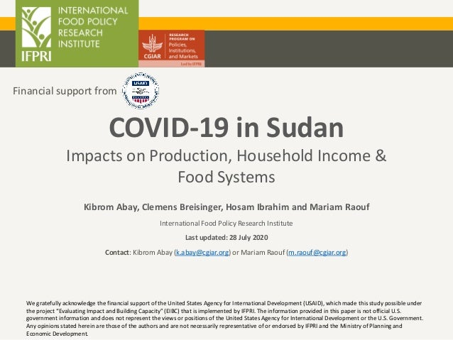 Kibrom Abay, Clemens Breisinger, Hosam Ibrahim and Mariam Raouf International Food Policy Research Institute Last updated:...