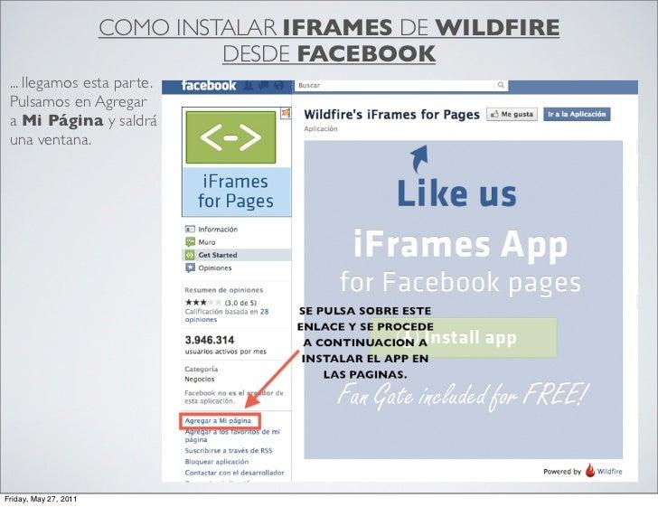 Instalar Iframe desde Facebook Slide 3