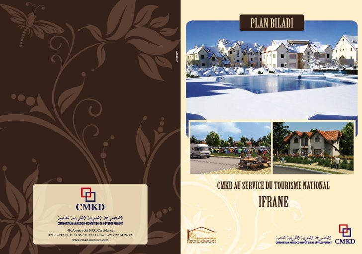 Brochure Projet immobilier Ifrane - CMKD Immobilier