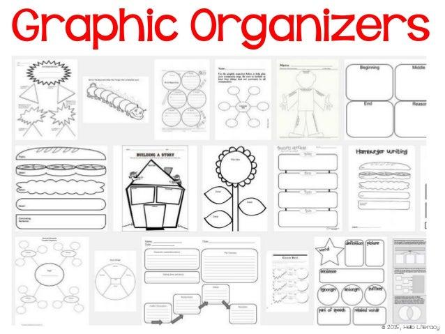 pre writing graphic organizer