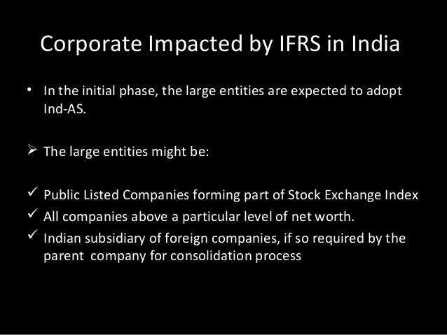 ifrs conversion template - international financial reporting standards ifrs