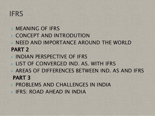 ifrs a report on the roadmap Key steps to ifrs readiness companies that report in gaap through the ifrs lens the sec agreed to propose a roadmap toward use of ifrs by.