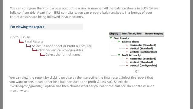 11. You Can Configure The Profit U0026 Loss ...