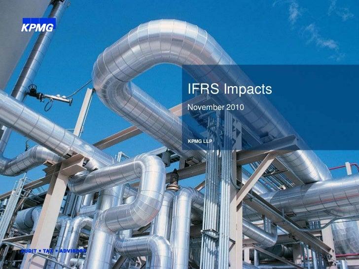 IFRS Impacts                                                                                      November 2010           ...