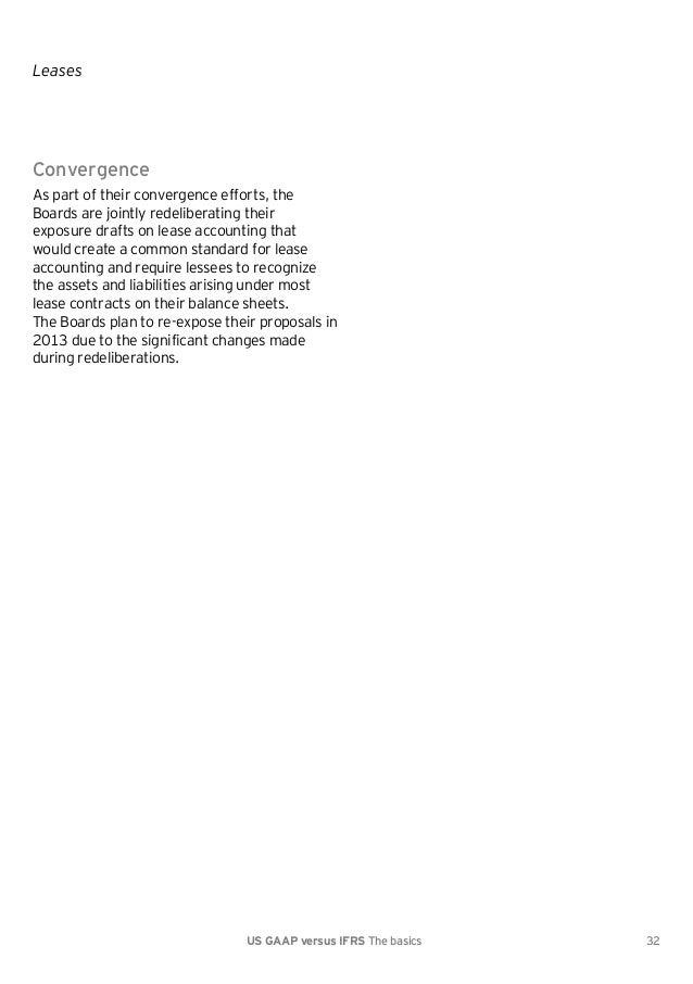 IFRS VS USGAAP 2012