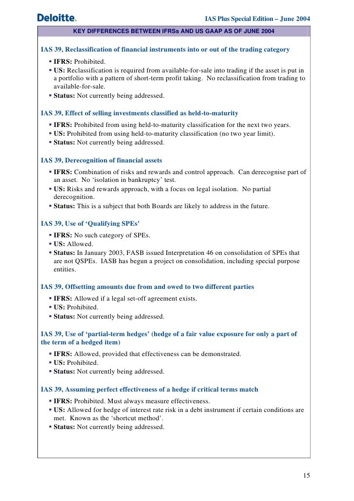 ifrs v us gaap June, 2011 presentation to ima members regarding the reporting differences between gaap and ifrs.