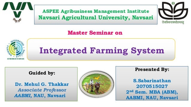 integrated farming system in gardenland Weed management in dryland agriculture in india for enhanced resource use efficiency and livelihood security  integrated land use management and farming system.