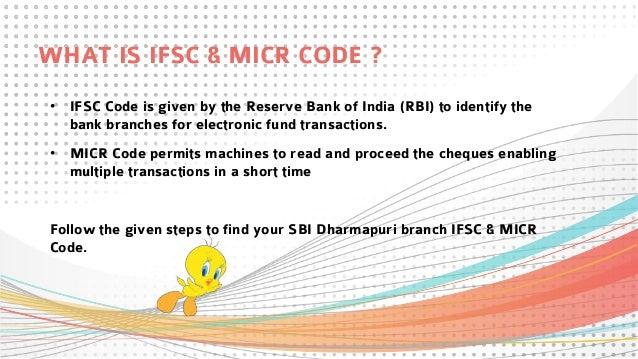 ifsc code sbi dharmapuri town branch