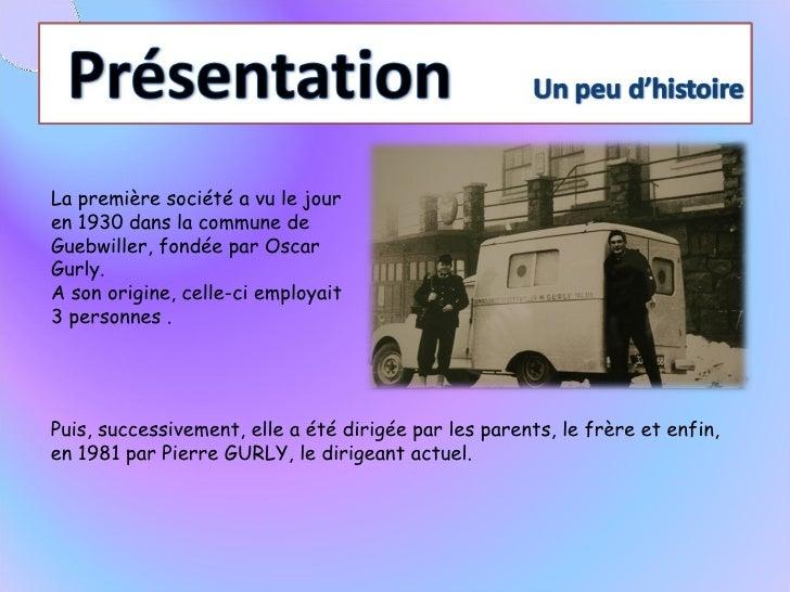 présentation ambulance groupe gurly Slide 2