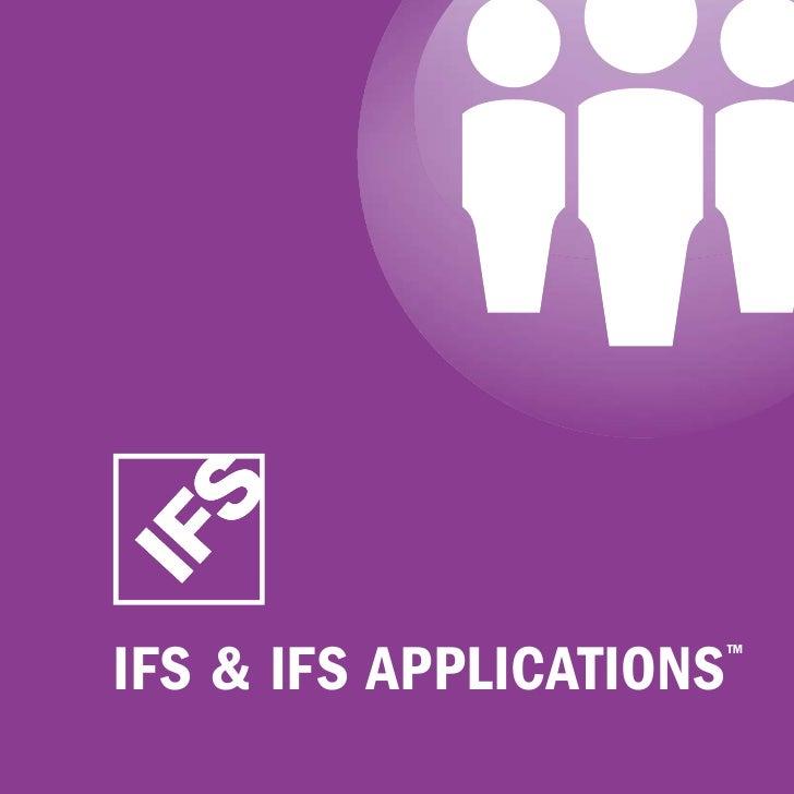 IFS & IFS ApplIcAtIonS   ™