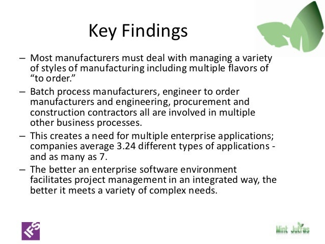 Complexity In Industrial Erp Getting Back To One Version