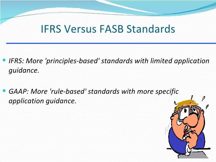 Iasb vs Fasb Essay