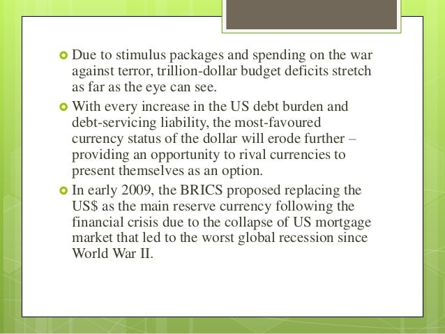 What'$ next ?   Economy of the United States has all the means for  recovery because   It is well diversified and compet...