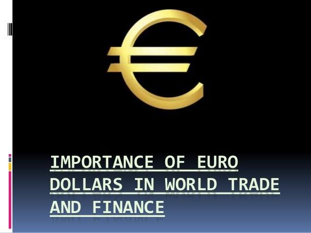 Where Are Eurodollars Traded Goods