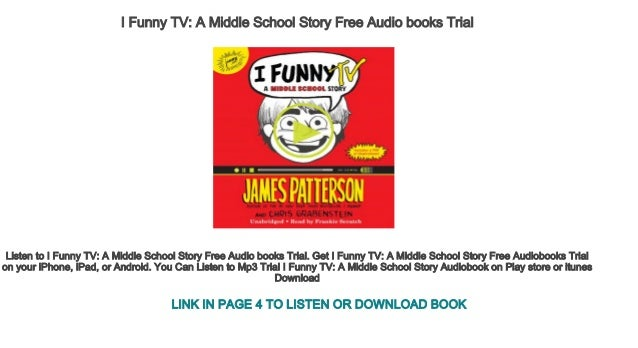 I Funny Tv A Middle School Story Free Audio Books Trial