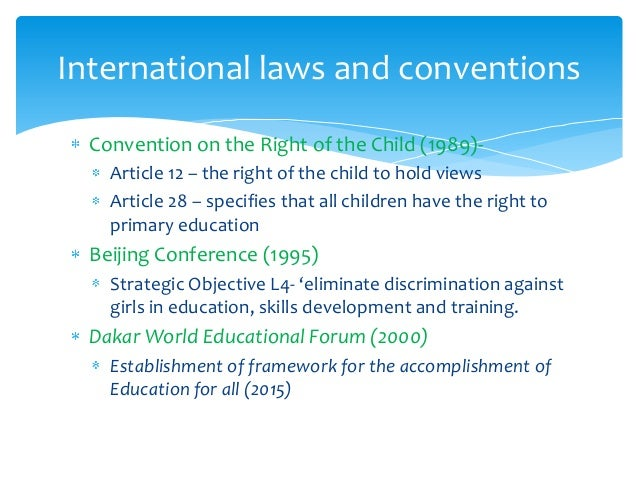 literature review on girl child education in nigeria Chapter – 2 review of literature 21 introduction 'there isn't single country in the world-not one-where men  education indirectly prevents child labour,.