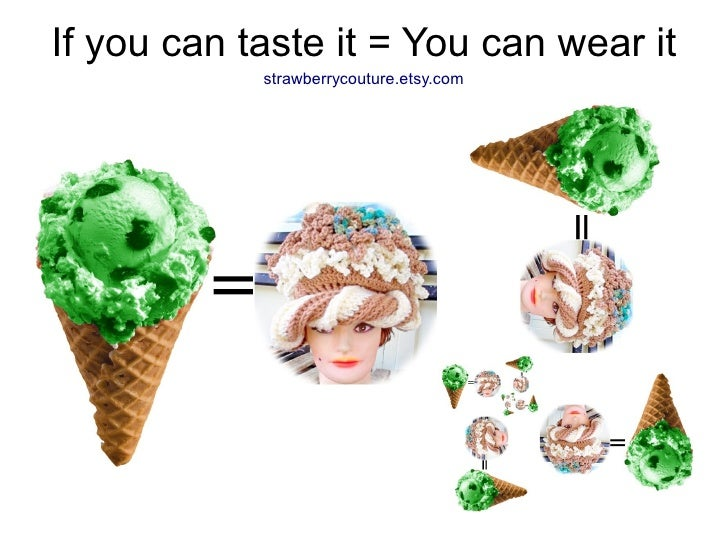 If you can taste it = You can wear it             strawberrycouture.etsy.com