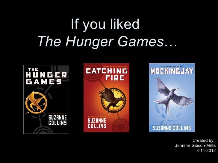 If you likedThe Hunger Games…                         Created by:                Jennifer Gibson-Millis                   ...