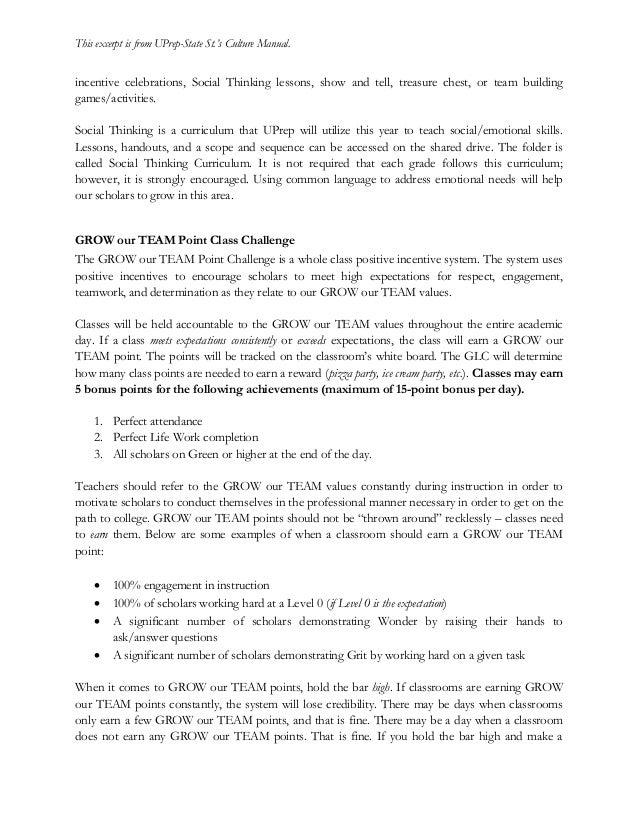 SPI Resource: Culture Manual Excerpt