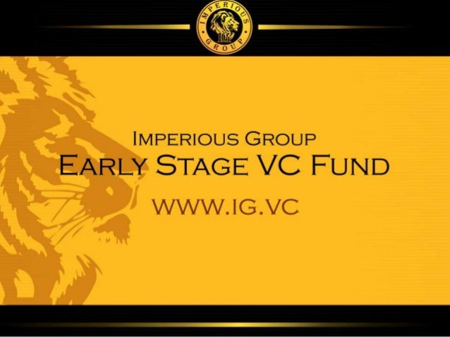 Early Stage VC Fund Imperious Group