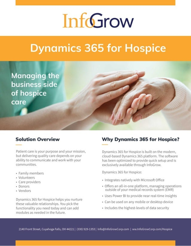 Dynamics 365 for Hospice