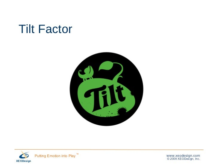 Tilt Factor