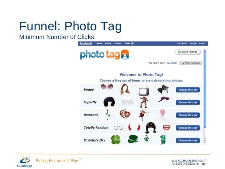 Funnel: Photo Tag Minimum Number of Clicks
