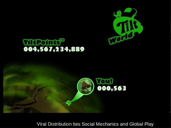 Viral Distribution ties Social Mechanics and Global Play