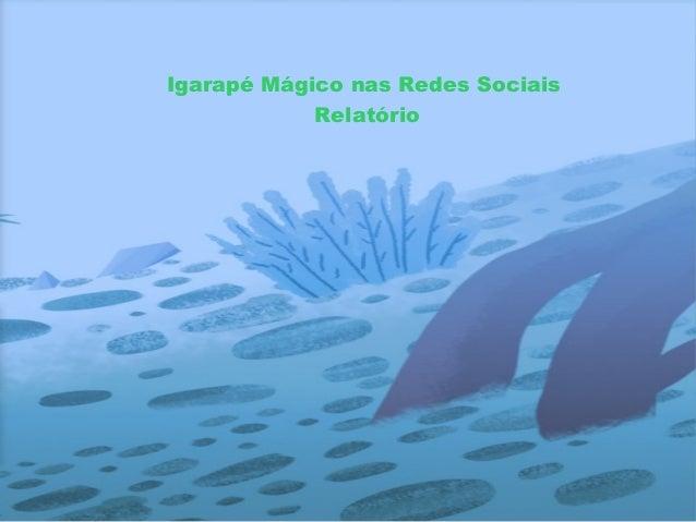 Igarapé Mágico nas Redes Sociais Relatório