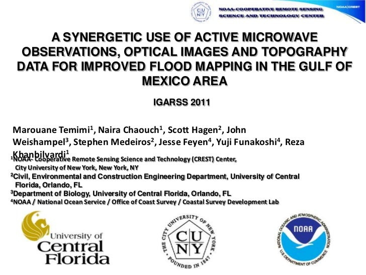 A SYNERGETIC USE OF ACTIVE MICROWAVE OBSERVATIONS, OPTICAL IMAGES AND TOPOGRAPHY DATA FOR IMPROVED FLOOD MAPPING IN THE GU...